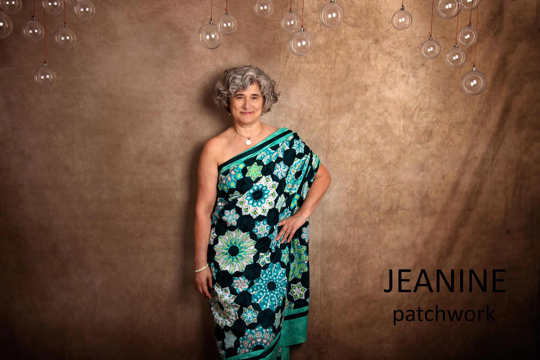 Jeanine: patchwork